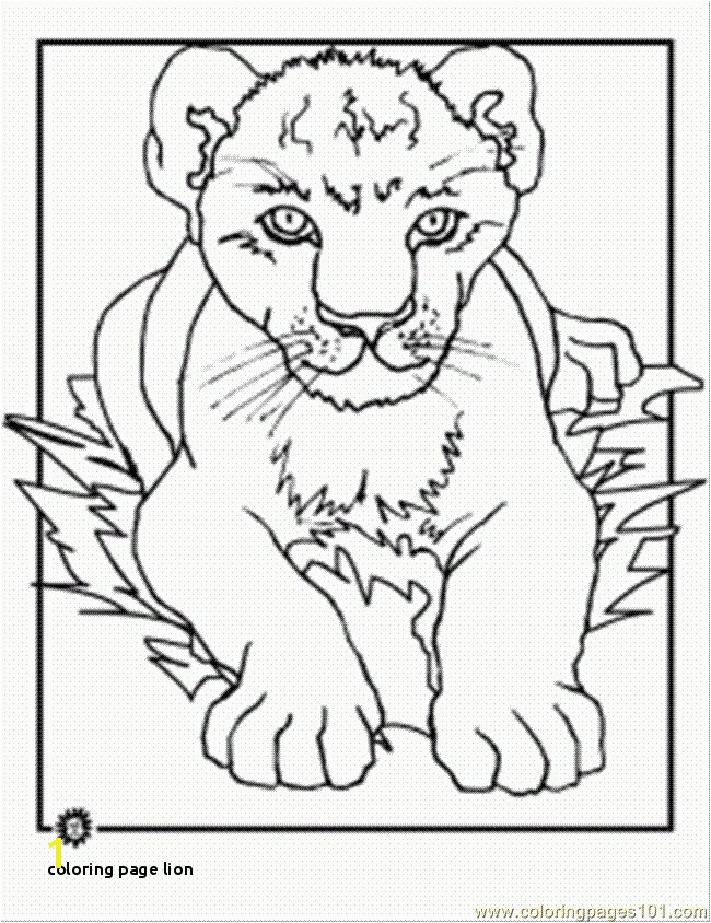 Lion King Coloring Pages Free 23 Coloring Page Lion