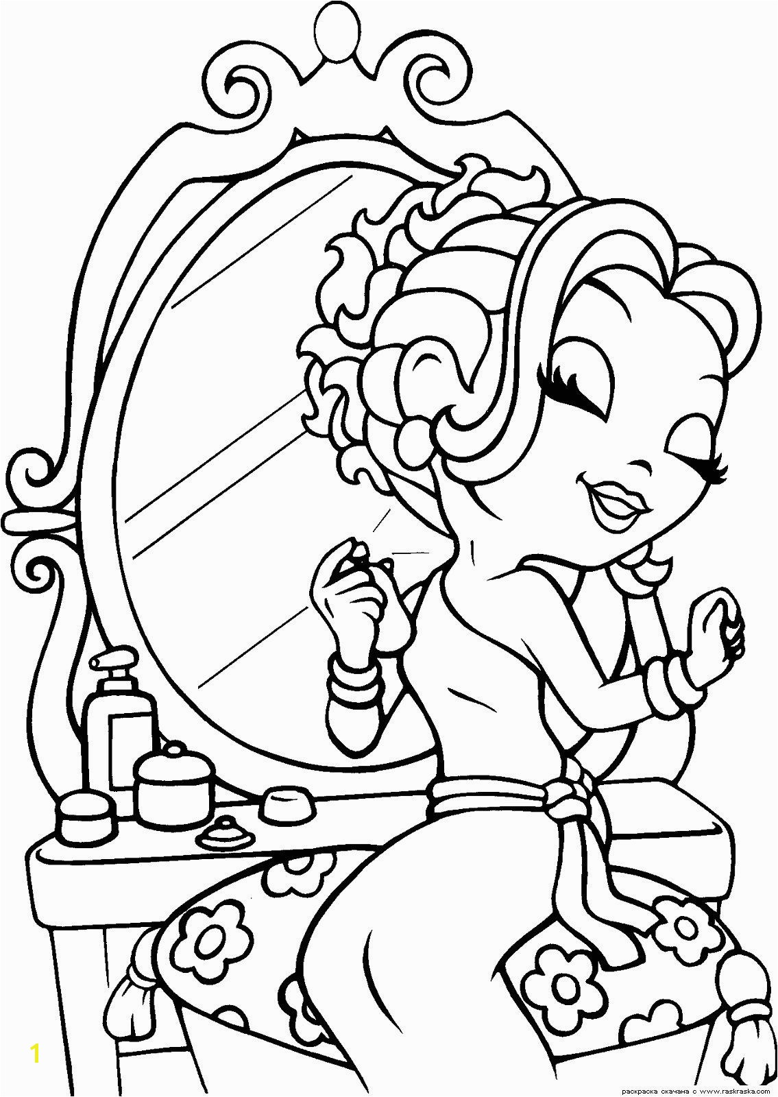 Lisa frank coloring pages to and print for free