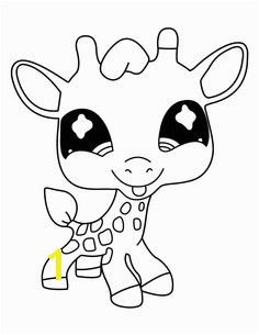 Littlest Pet Shop Deer Cute Coloring Pages For Kids Printable Littlest Pet Shop Coloring Pages For Kids