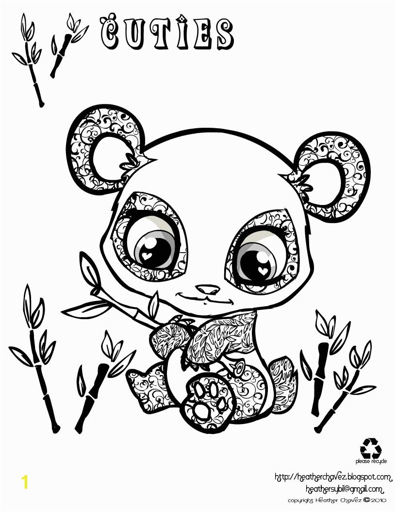 Littlest Pet Shop Coloring Pages Panda Owl Coloring Pages Free Printables
