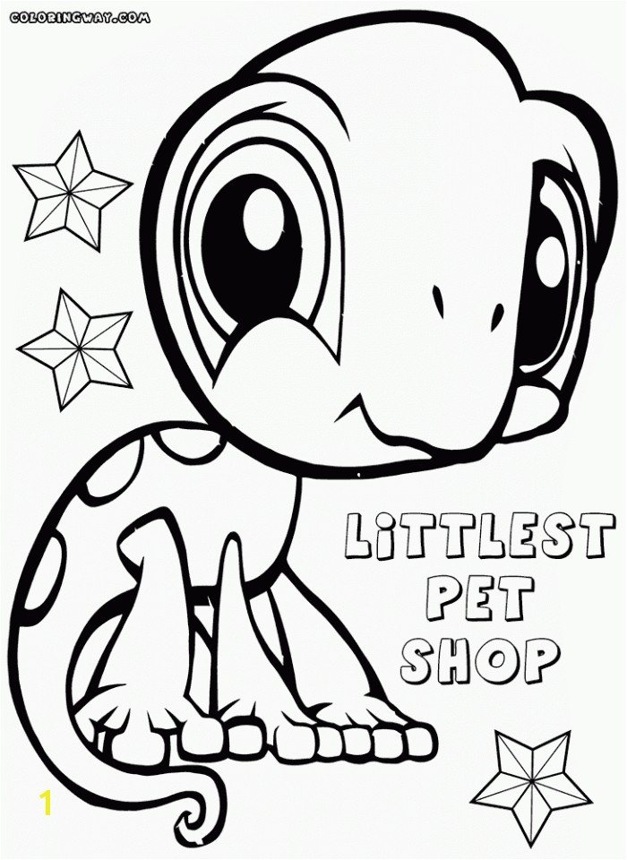Littlest Pet Shop Coloring Pages to Color Online for Free 20 Free Printable Littlest Pet Shop Coloring Pages