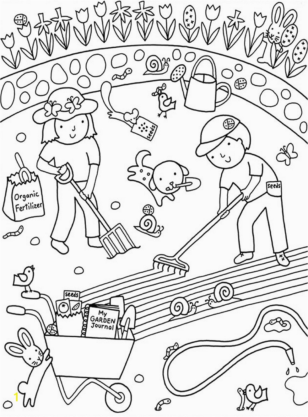 Liv and Mad Printable Coloring Pages Best Garden Coloring Pages to Print Liv and