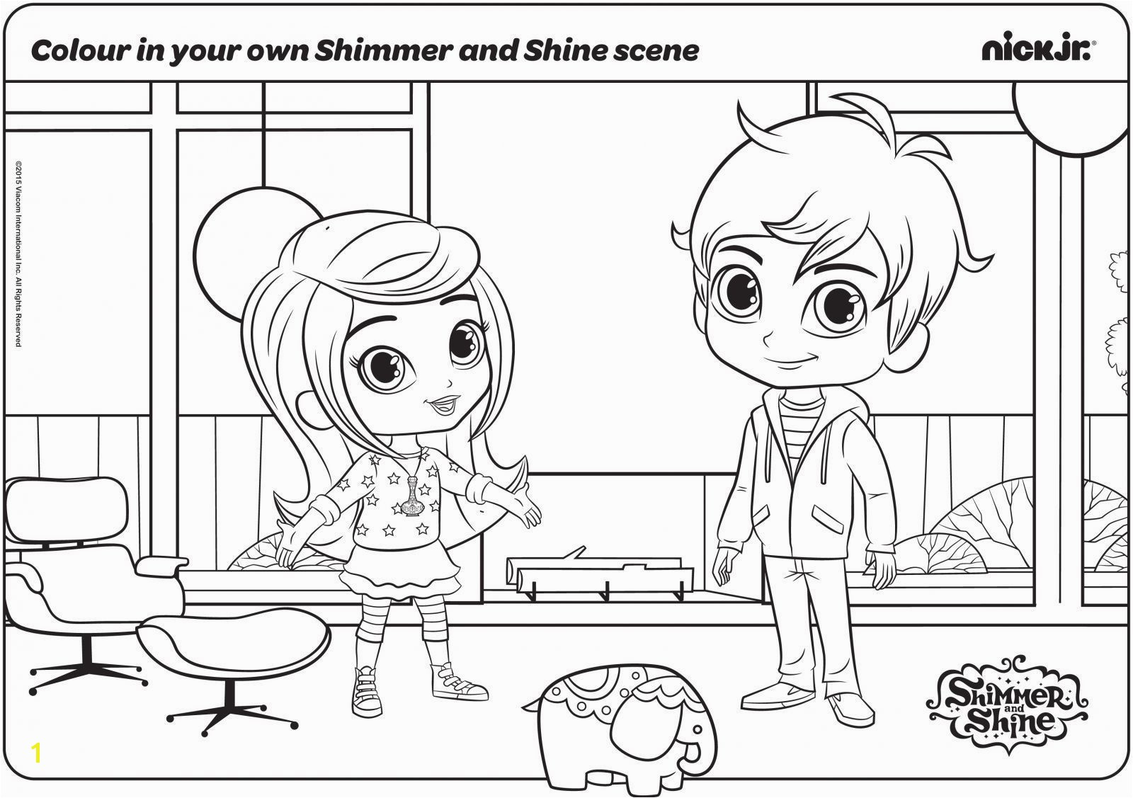 Liv and Mad Printable Coloring Pages Unique Instructive Nick Jr Coloring Pages Shimmer and Shine Printable
