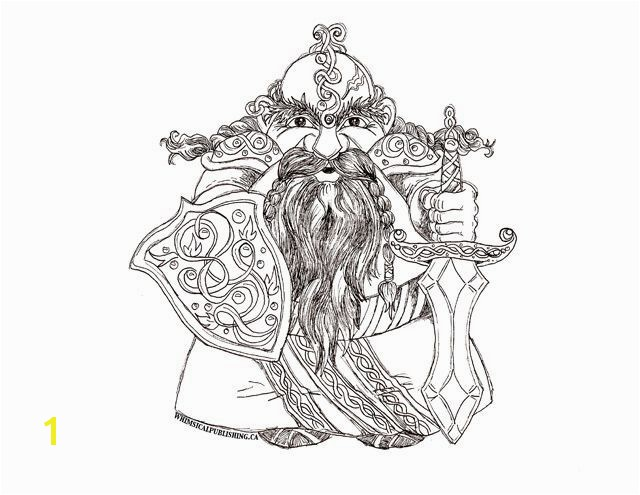 Lord The Rings Coloring Pages With WHIMSICAL Dwarf Colouring Page FREE Download Whimsicalpublishing