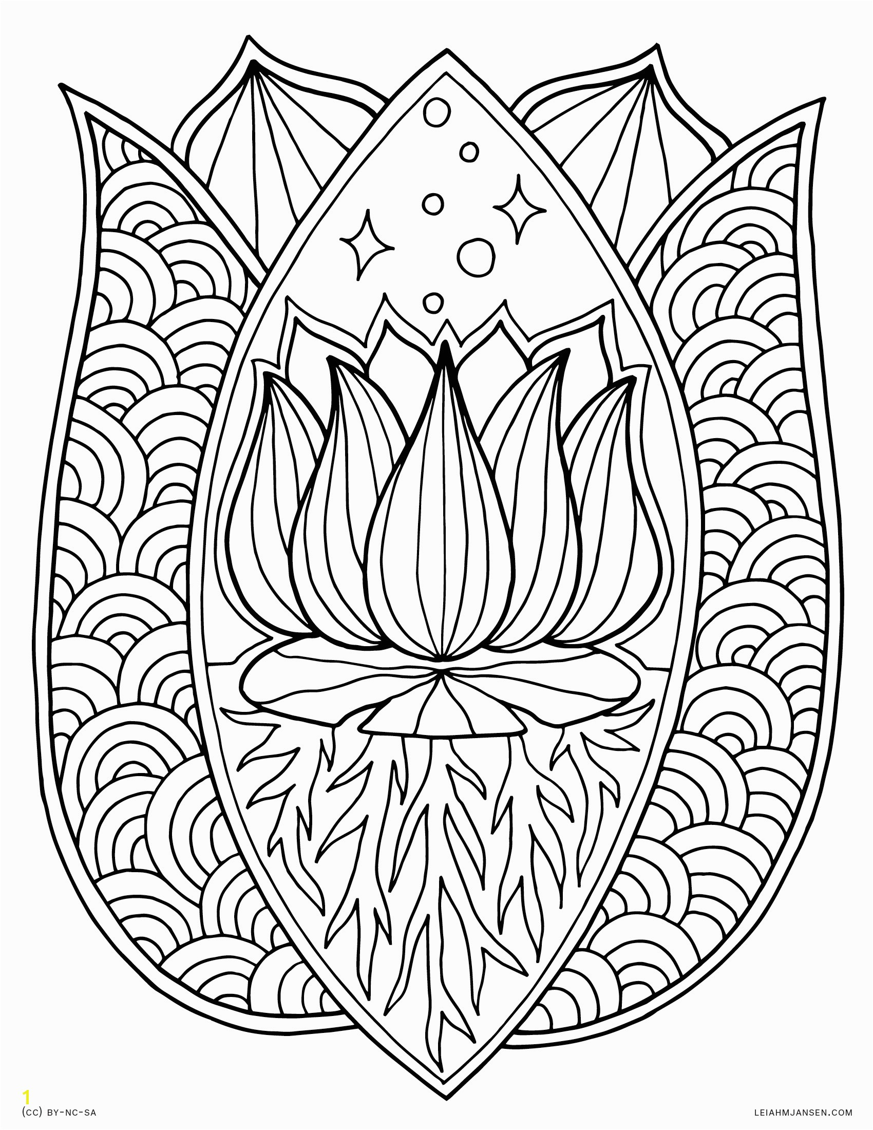 Innovative Lotus Mandala Coloring Page Fresh Flower Pages Collection Printable