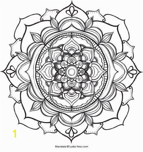Printable coloring pages of 33 Lotus Flower Mandala Coloring Pages 5559 Lotus… More