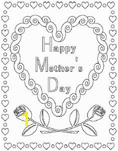Mother s Day Coloring Pages Coupons and Activities