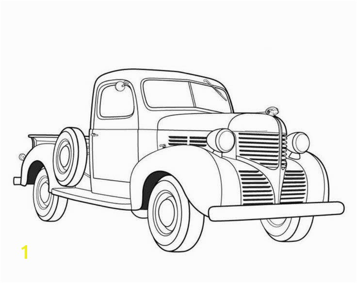 coloring page or goo bag i have a collection car just like this drawing of an old car