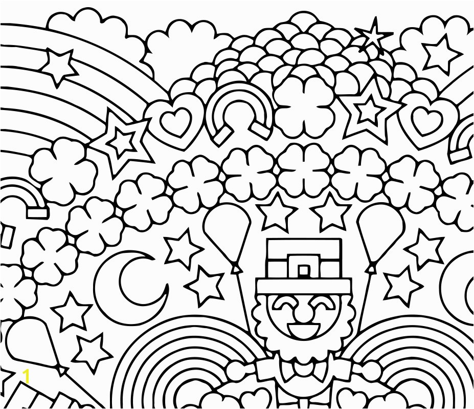 927x799 Lucky Charms Coloring Pages Awesome St Patrick S Day Drawing At