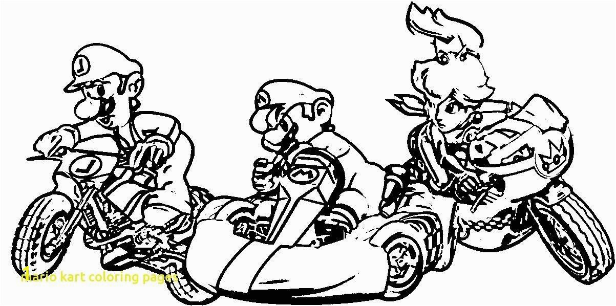 Princess Peach Mario Kart Coloring Page Printable Lovely 18 Inspirational Mario and Luigi Coloring Pages Printable