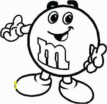 m & m candy coloring pages