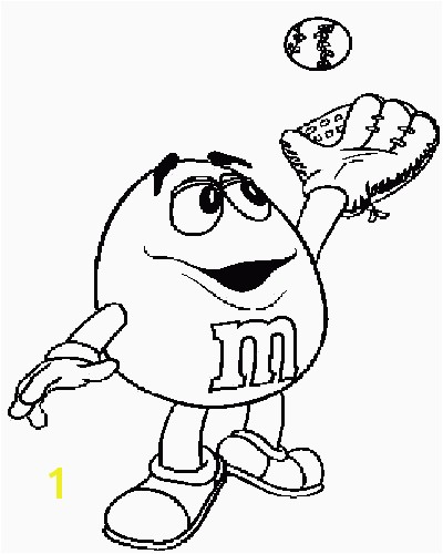 M And Coloring Pages Mm Candy Colouring Pages