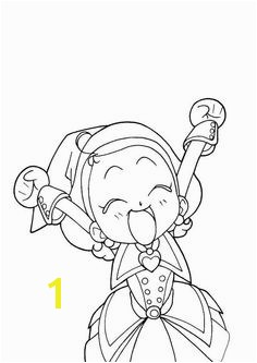 coloring page magical doremi Magical Doremi Magical DoReMi Pinterest