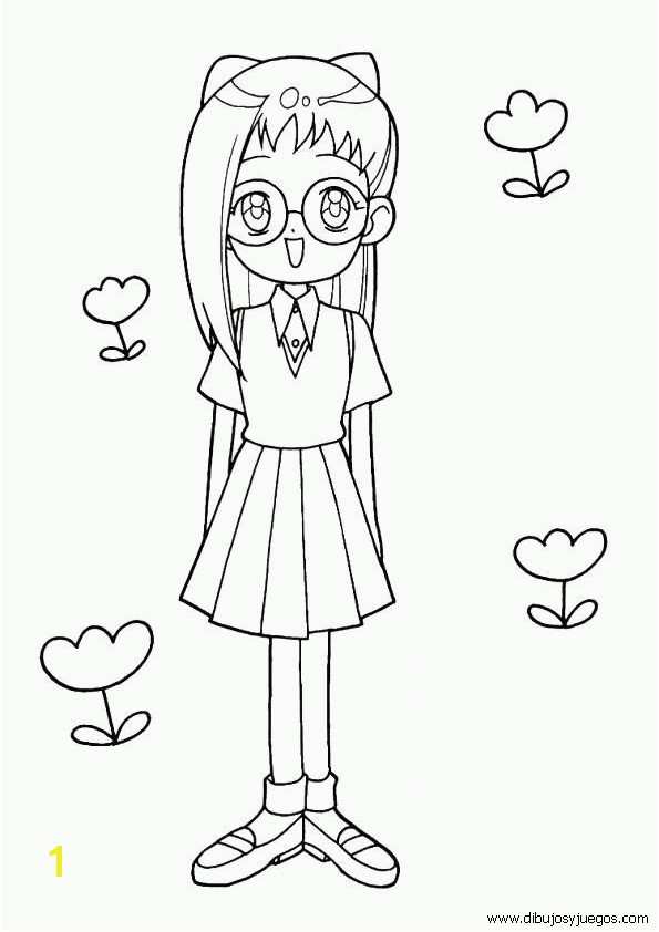 ojamajo doremi coloring pages Google Search