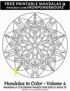 Mandala Coloring Pages for Adults Free Mandala Coloring Pages for Adults