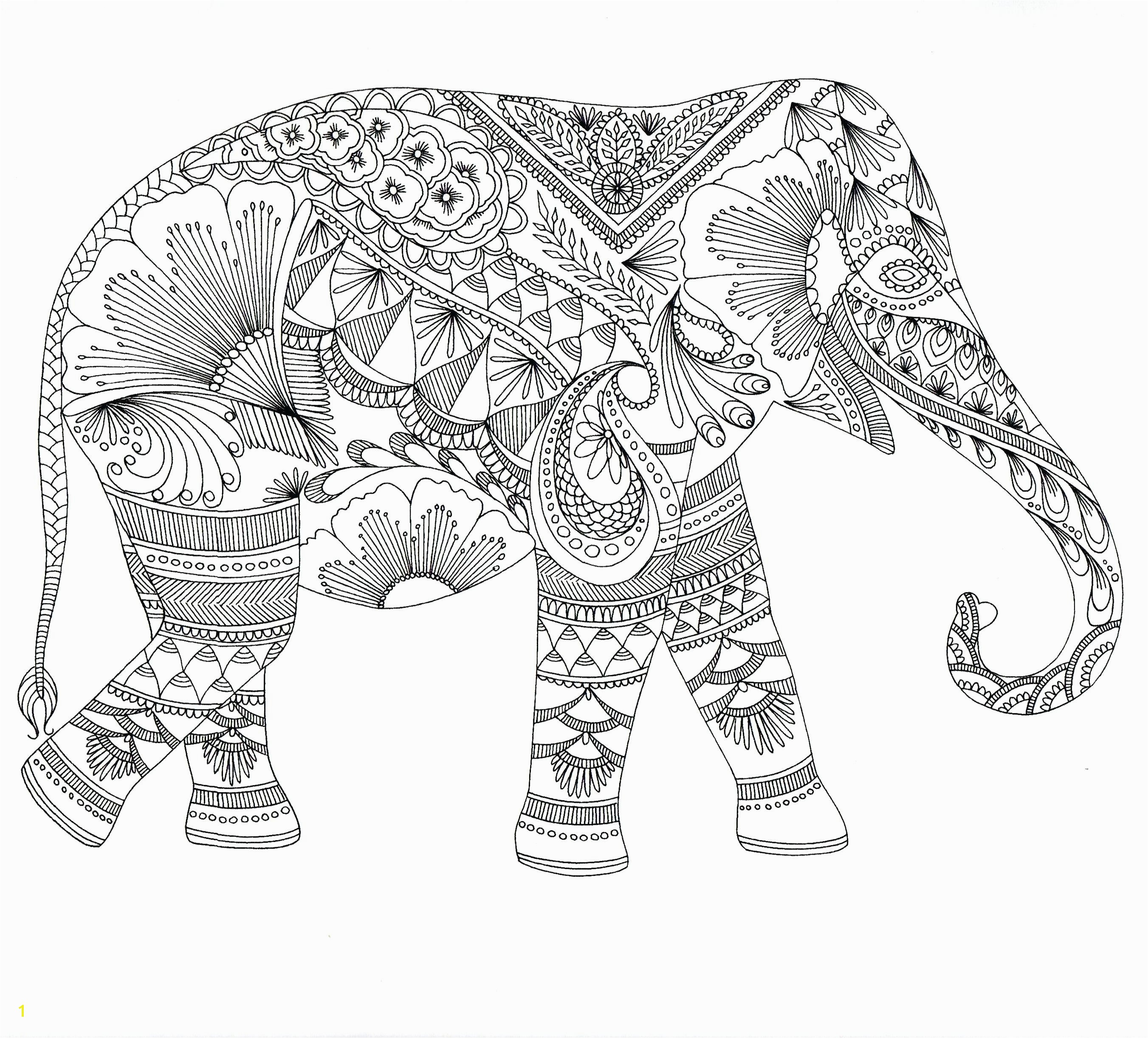 Awesome Animal Mandala Coloring Pages Collection 4 k Elephant Mandala Coloring Pages For Beginners
