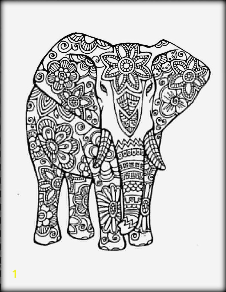 Elephant Mandala Coloring Pages Luxury Cool Od Dog Coloring Pages animal