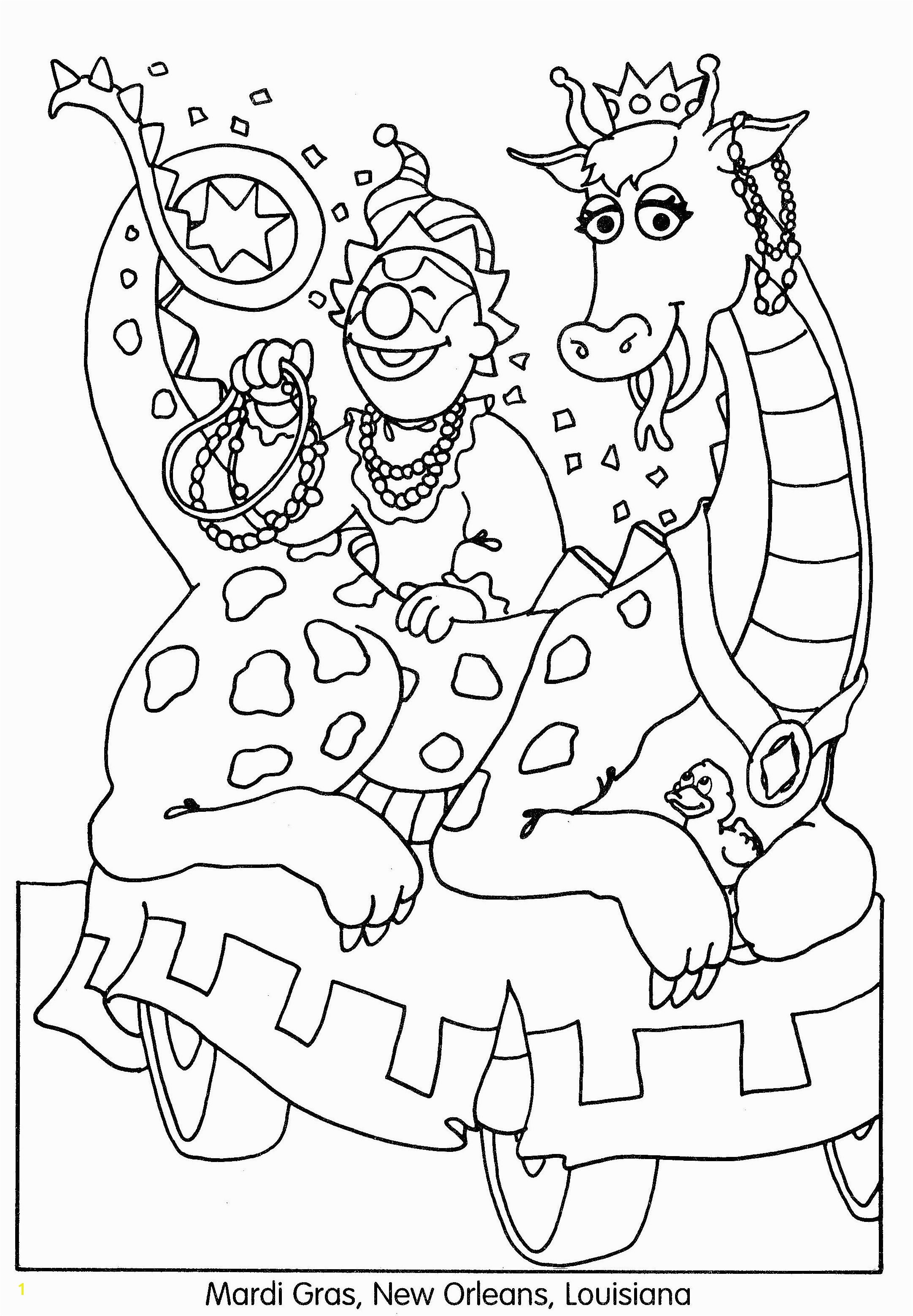 Mardi Gras Color Pages Printable Unique Mardi Gras Coloring Pages Coloring Pages