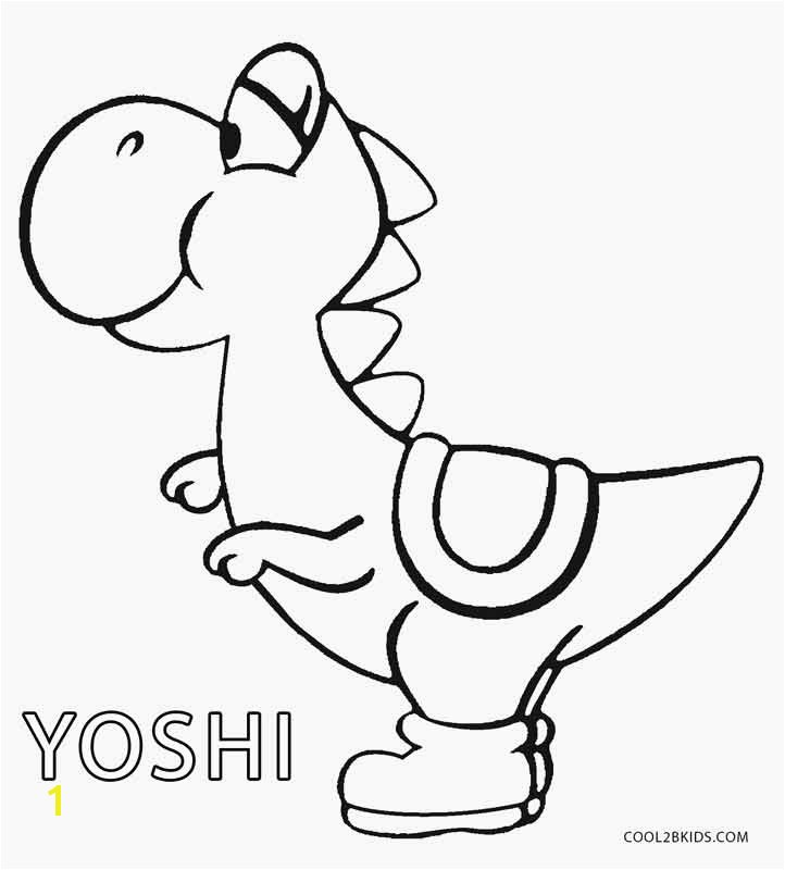 Awesome Yoshi Coloring Pages More Image Ideas