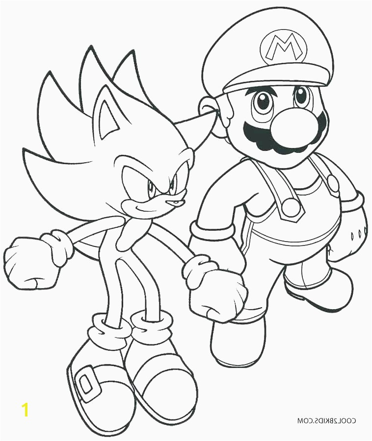 Child Coloring Pages line Child Coloring Pages Line Simple Mario Coloring Pages Line O D