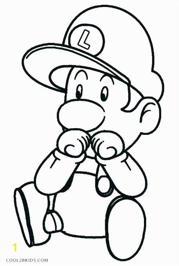 Mario Kart Coloring Page Elegant Mario Coloring Pages Line For Baby Princess Peach Kart O D