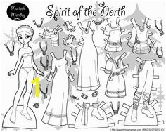 Marisole Monday Paper Doll Coloring Pages Marisole Monday Modern Girl In Black & White In 2018