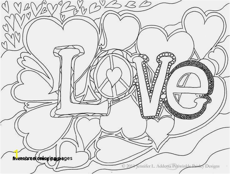 27 Friends Coloring Pages