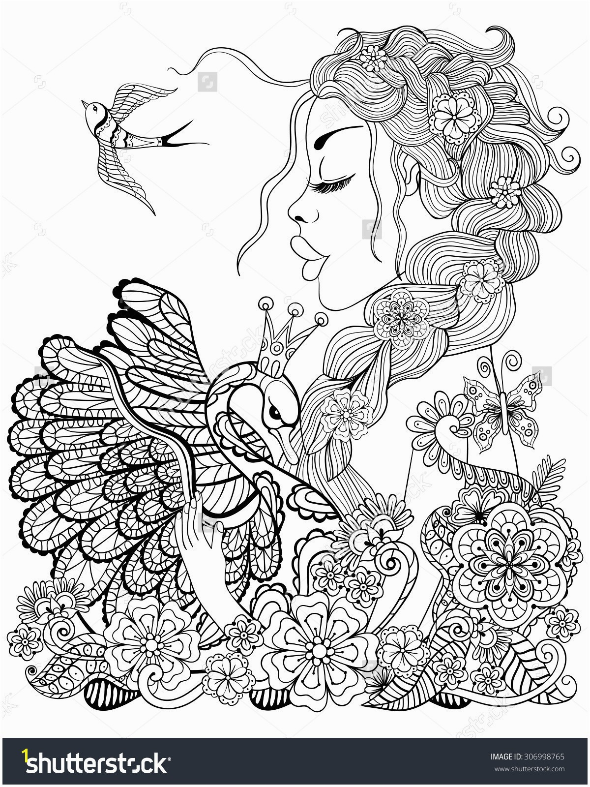 Coloring Pages for Girls A Coloring Page Best Media Cache Ec0 Pinimg 736x 9f 5b 0d