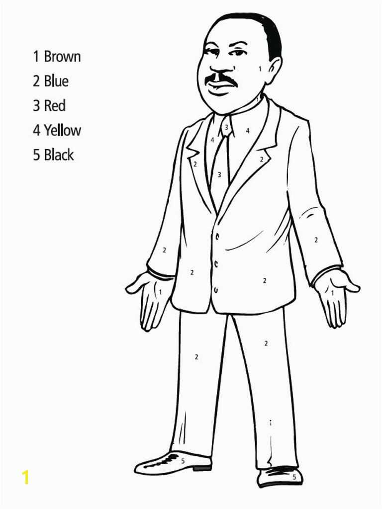 martin luther king jr coloring pages Martin Luther King Jr Coloring Pages