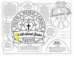 Lutheran art to print ts men women share faith word grace truth Martin Luther