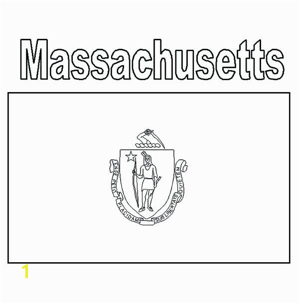 Massachusetts Flag Coloring Page Unique Flag Coloring Page Free Printable Coloring Pages Flag Coloring Stock