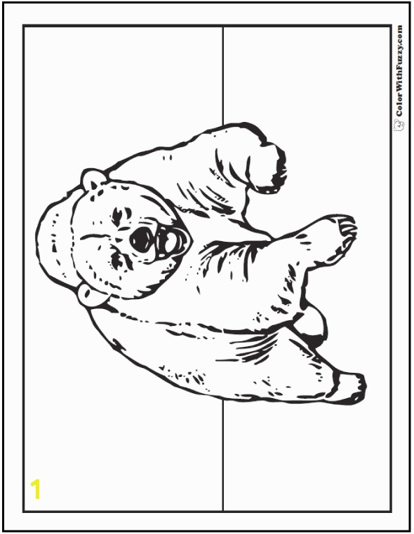 39 Bear Coloring Pages