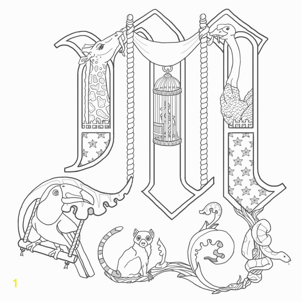 Limited Me val Illuminated Letters Coloring Pages Manuscript 3 Fototo Me