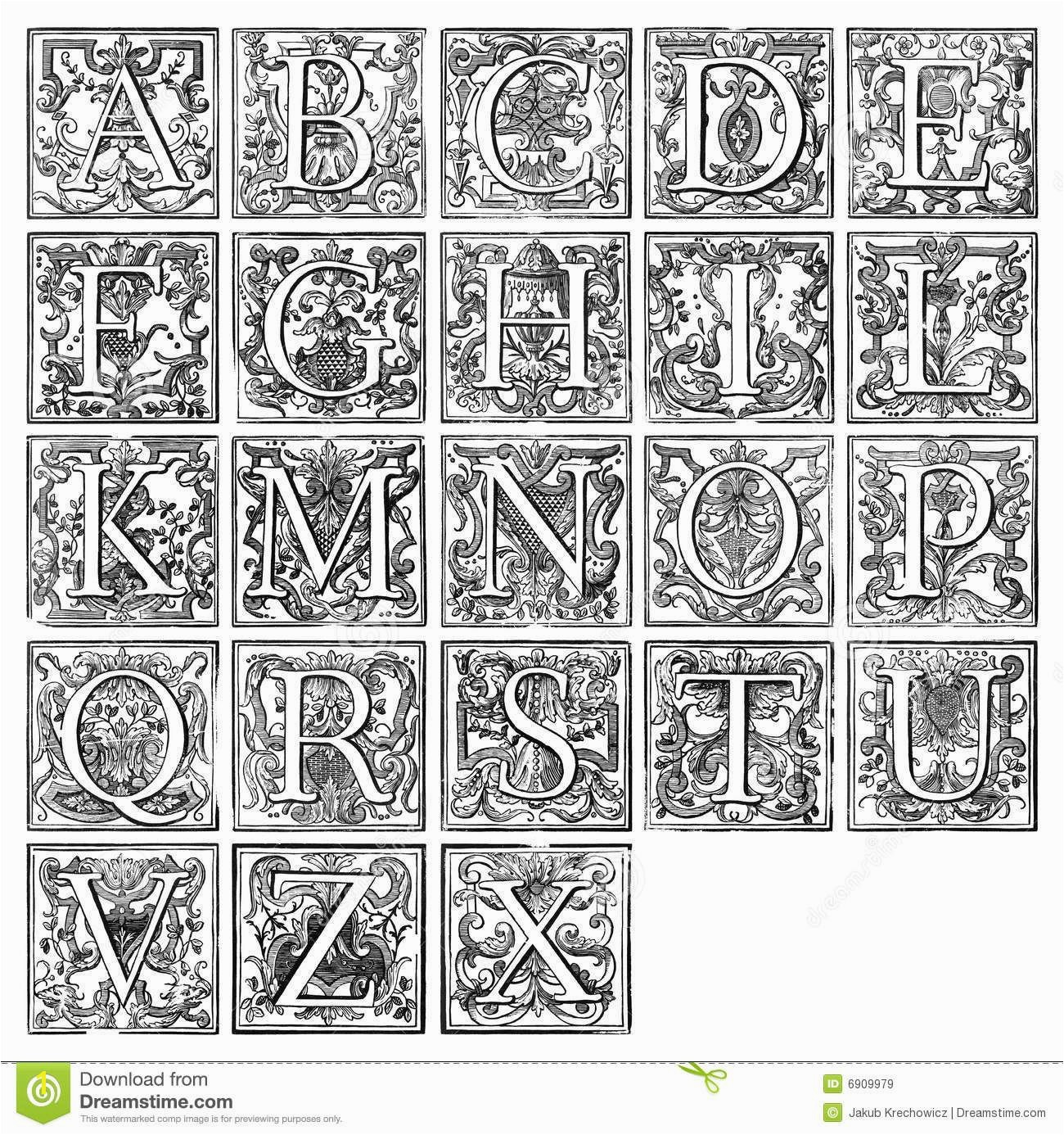 Unlimited Me val Illuminated Letters Coloring Pages Manuscript T Letter