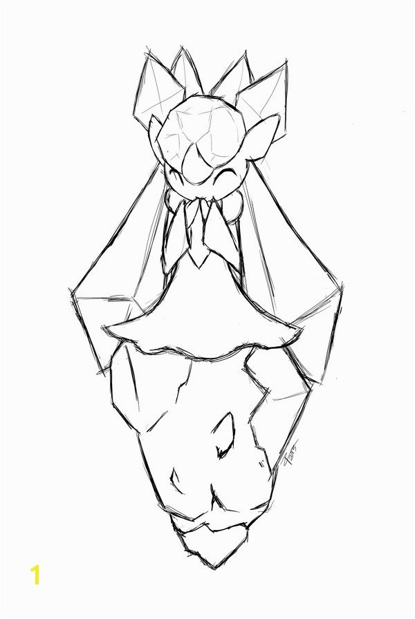 Mega Diancie Coloring Pages 15 Best Mega Diancie Coloring Pages Stock