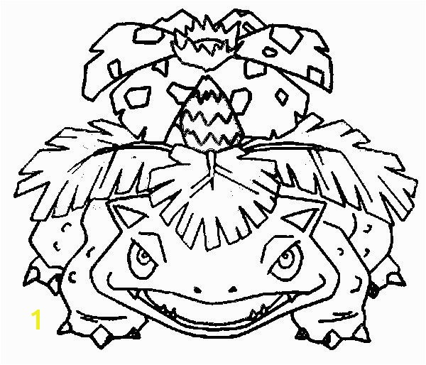 Picture Coloring Pokemon Coloring Pages Venusaur With Coloring Pages Pokemon Venusaur Drawings Pokemon