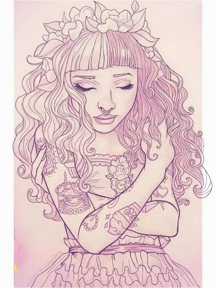 Luxury Melanie Martinez Coloring Book More Image Ideas