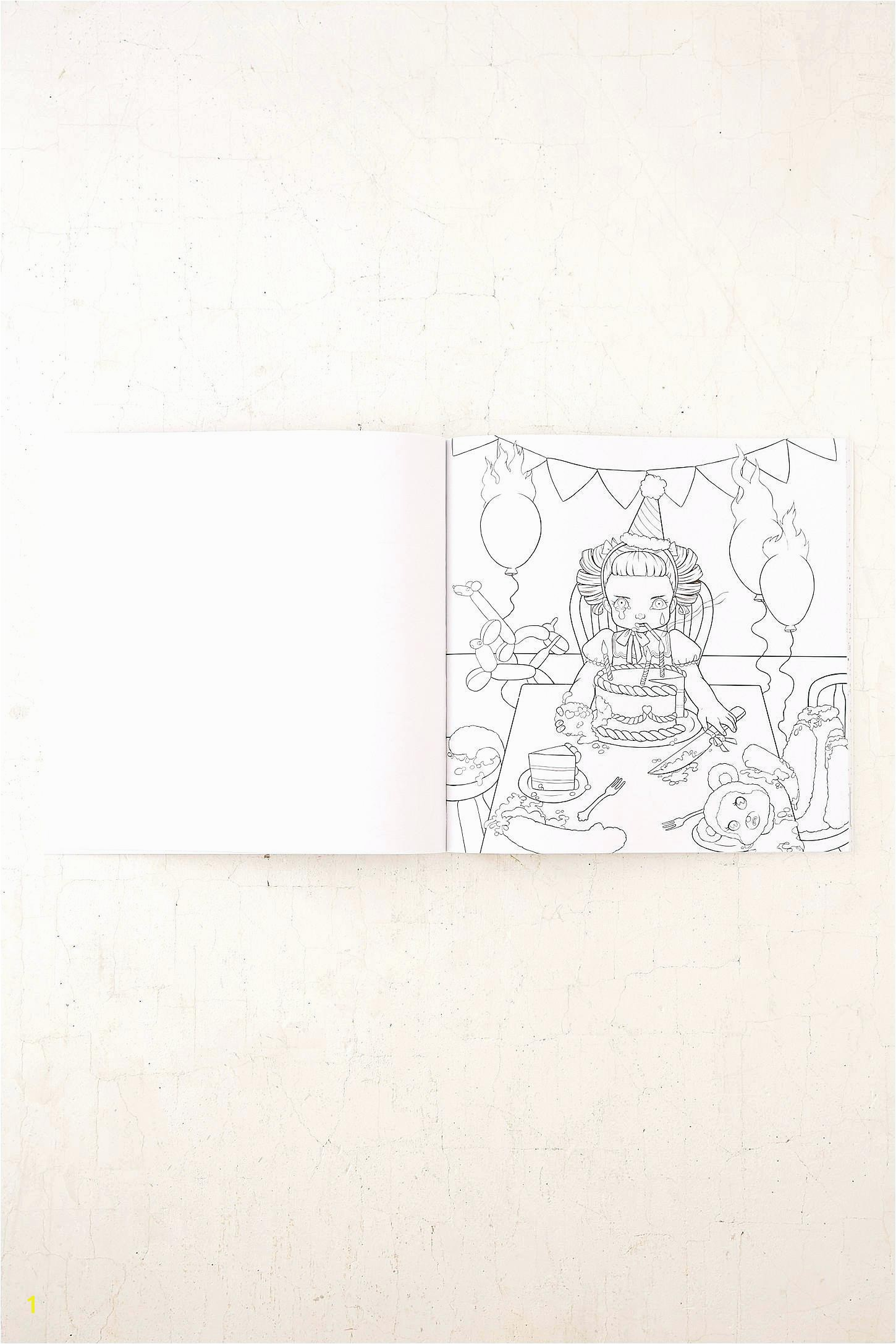 cry baby coloring book by urban outfitters on coloring book pages melanie martinez coloring book pages
