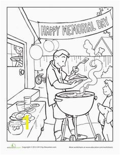 Memorial Day Coloring Page Coloring Pages 6 Pinterest
