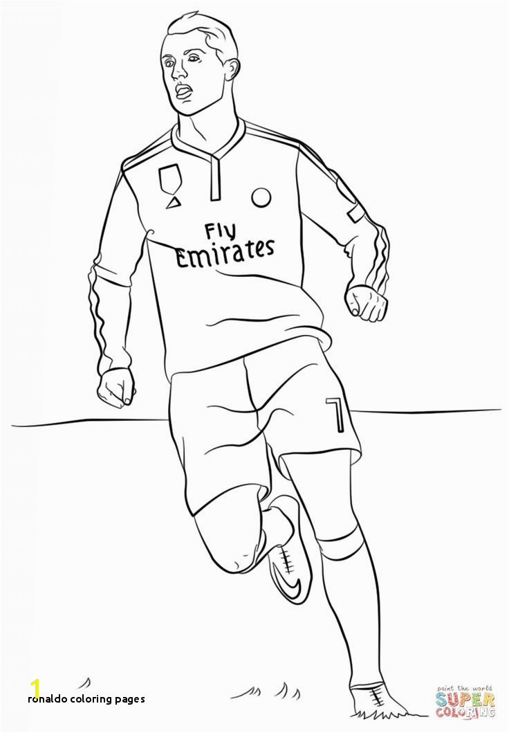 Ronaldo Coloring Pages Cristiano Ronaldo Coloring Pages Aryan Pinterest