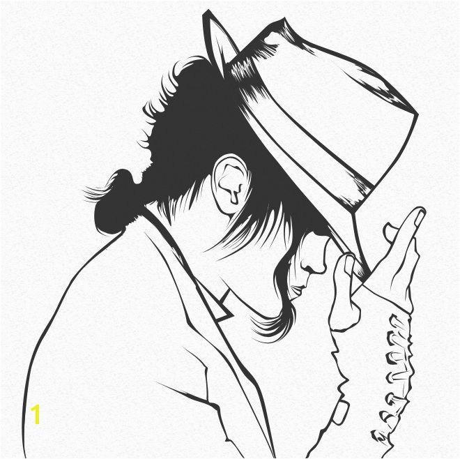 Dibujos para pintar de Michael Jackson