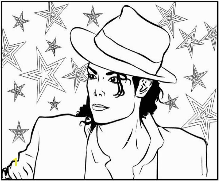 Michael Jackson Coloring Sheets 23 Best Famous People Pinterest