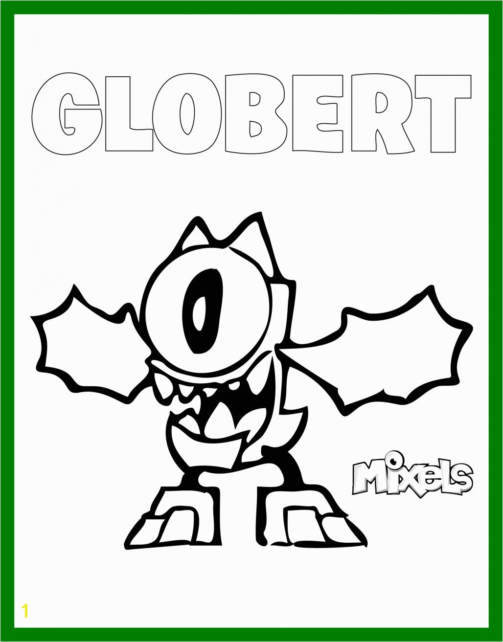 Mixels Coloring Pages Series 9 Mixels Coloring Pages Series 9 Awesome 14 Unique Skylanders Giants