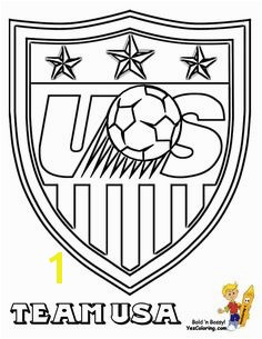 Start coloring fun with MLS Soccer Coloring Sheets Handle FIFA American soccer coloring of MLS West