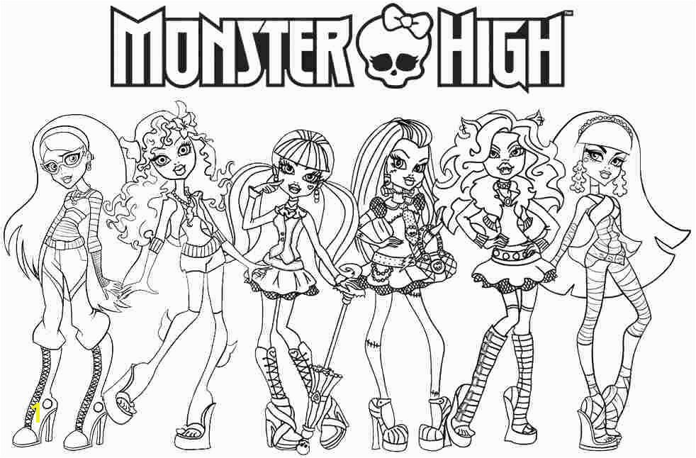Monster High Printable Coloring Pages Image Cartoon Printables Monster High Printable Coloring Pages Image Cartoon Printables