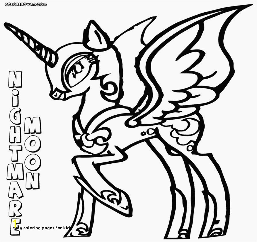 Moon Coloring Pages for Preschoolers 24 Easy Coloring Pages for Kids