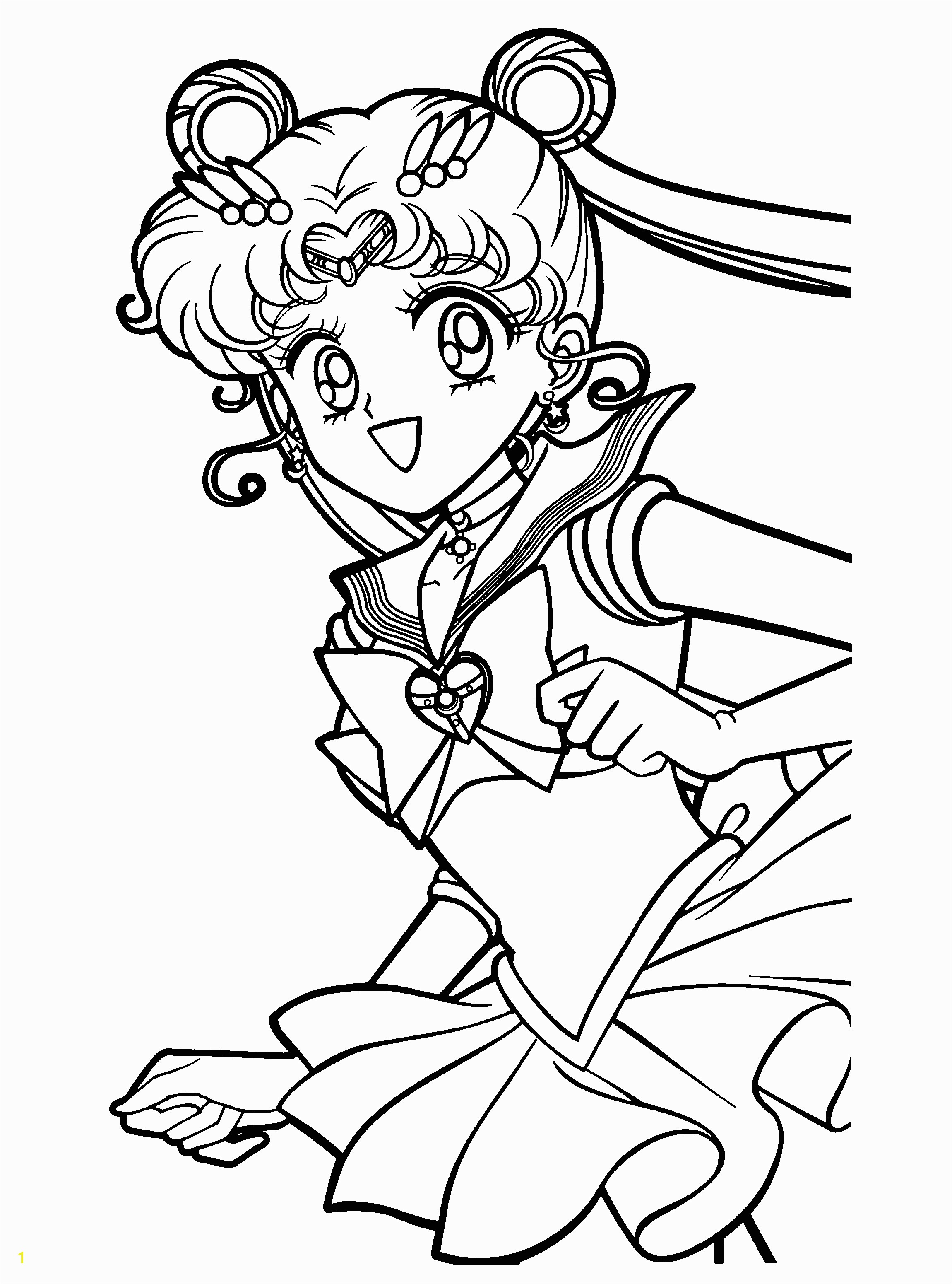 Moon Coloring Pages for Preschoolers Free Printable Sailor Moon Coloring Pages for Kids