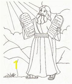 Ten mandments Coloring Pages