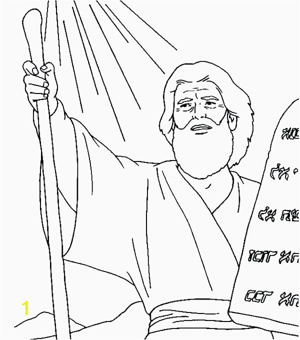Free Printable Ten mandments Coloring Pages Fresh Moses 10 Mandments Coloring Page Pages 5 Mystery History Free