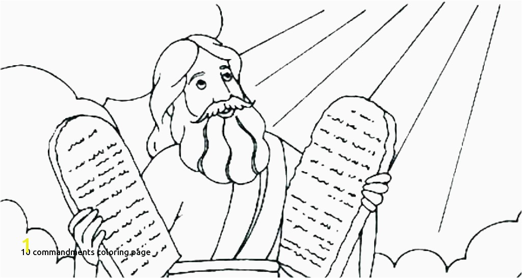 direct ten mandments coloring pages moses 10 5 mystery of history